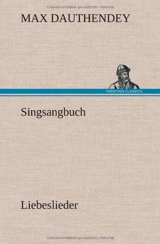 9783847246220: Singsangbuch (German Edition)