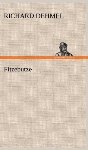 9783847246367: Fitzebutze (German Edition)