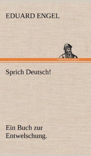9783847247449: Sprich Deutsch!