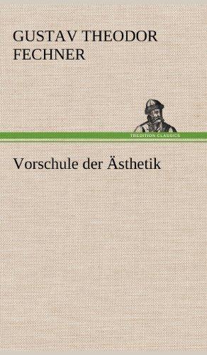 9783847248170: Vorschule Der Asthetik (German Edition)