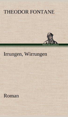 Irrungen, Wirrungen: Theodor Fontane