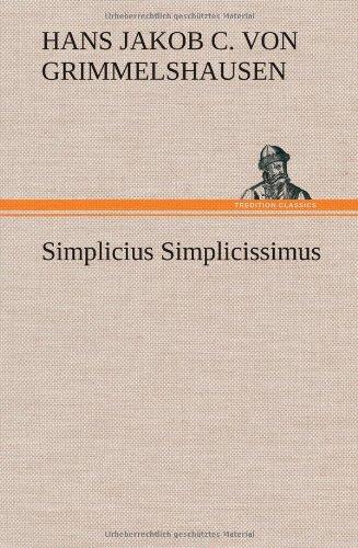 9783847250340: Simplicius Simplicissimus (German Edition)