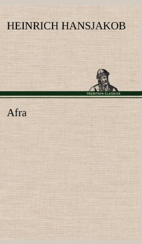 9783847251033: Afra (German Edition)