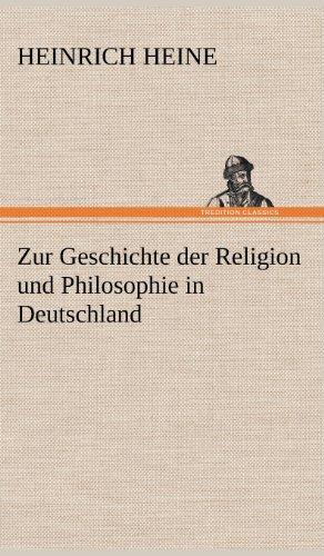 9783847251651: Zur Geschichte Der Religion Und Philosophie in Deutschland
