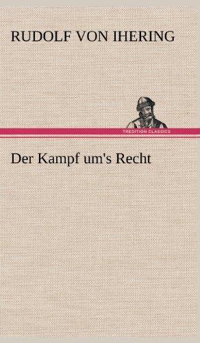 9783847252801: Der Kampf um's Recht