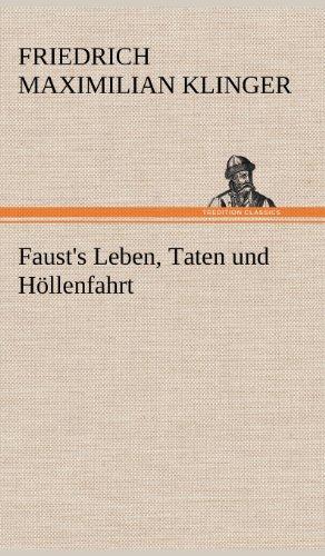 9783847253877: Faust's Leben, Taten und Höllenfahrt