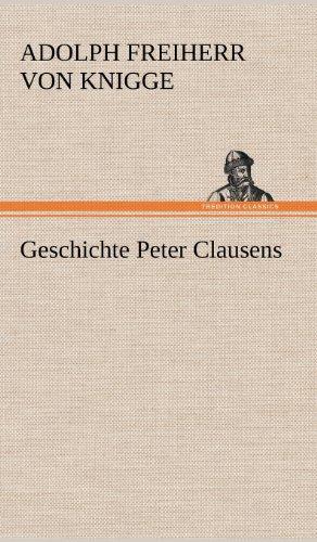 9783847253990: Geschichte Peter Clausens