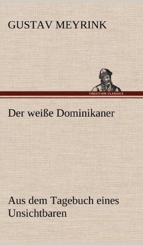9783847257196: Der Weisse Dominikaner (German Edition)