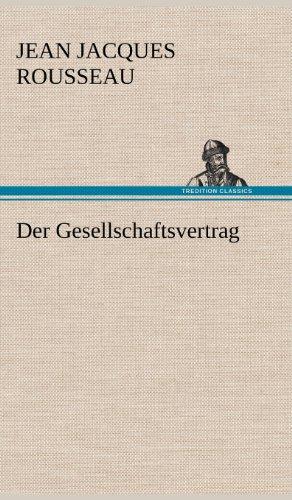 9783847260431: Der Gesellschaftsvertrag (German Edition)