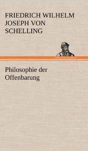 9783847260844: Philosophie Der Offenbarung (German Edition)
