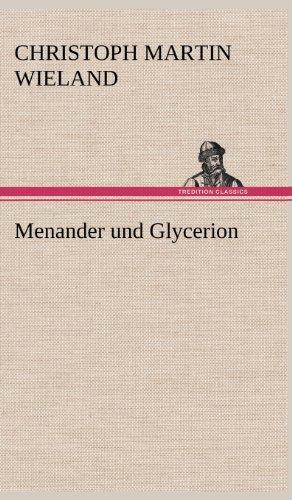 9783847263760: Menander Und Glycerion (German Edition)