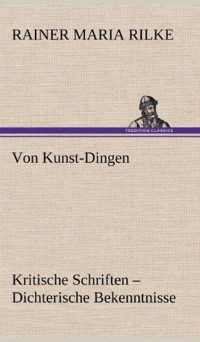9783847265597: Von Kunst-Dingen