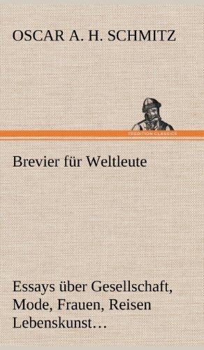 9783847266310: Brevier Fur Weltleute (German Edition)