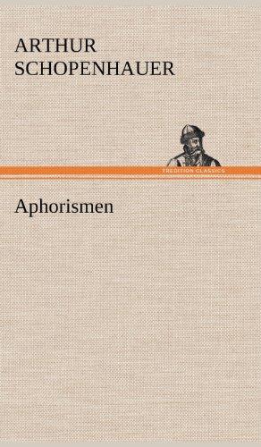 9783847266419: Aphorismen (German Edition)