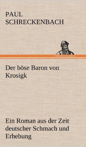 9783847266488: Der b�se Baron von Krosigk