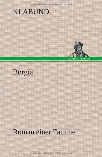 9783847269762: Borgia
