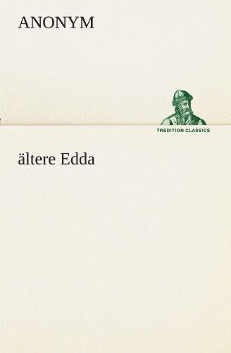 9783847288442: ältere Edda (TREDITION CLASSICS)