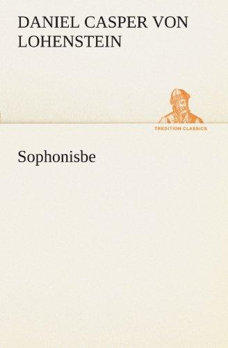 9783847290506: Sophonisbe (TREDITION CLASSICS)