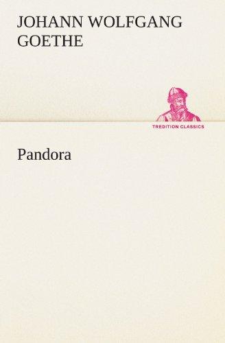 9783847291763: Pandora (TREDITION CLASSICS)