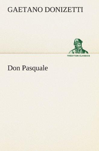 9783847292746: Don Pasquale (TREDITION CLASSICS)
