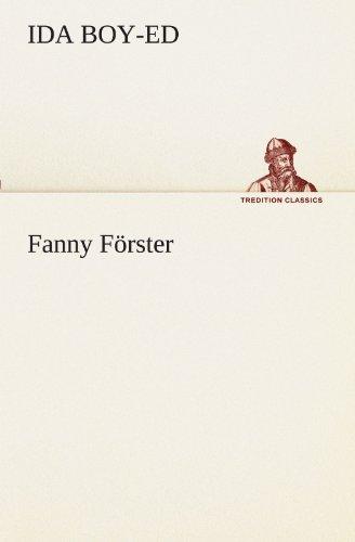 9783847294948: Fanny Förster (TREDITION CLASSICS)