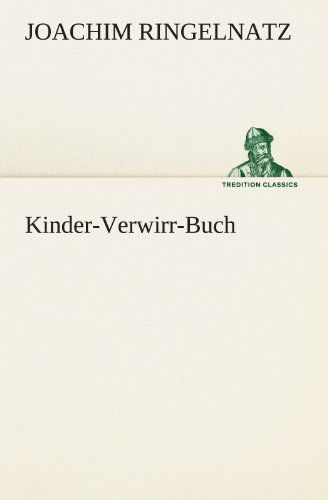 9783847295358: Kinder-Verwirr-Buch (TREDITION CLASSICS) (German Edition)