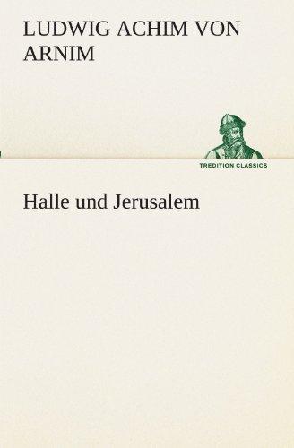 9783847298076: Halle und Jerusalem (TREDITION CLASSICS)