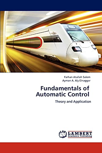 9783847313557: Fundamentals of Automatic Control: Theory and Application