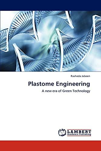 9783847320852: Plastome Engineering: A new era of Green Technology
