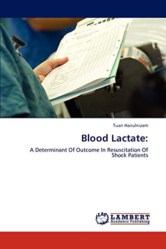 Blood Lactate: Tuan Hairulnizam