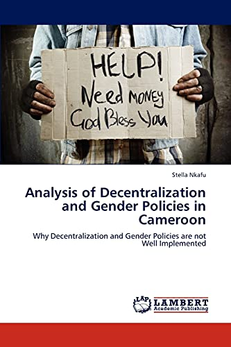 Analysis of Decentralization and Gender Policies in Cameroon: Stella Nkafu