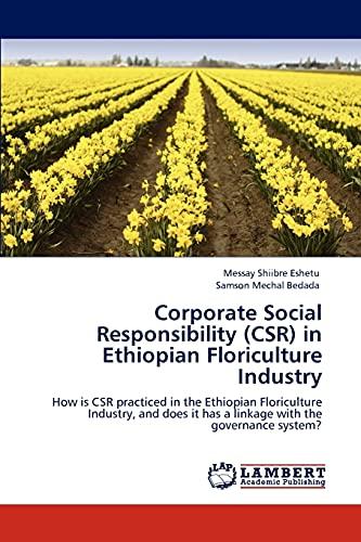 9783847332381: Corporate Social Responsibility (Csr) in Ethiopian Floriculture Industry