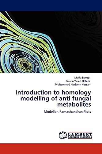 Introduction to Homology Modelling of Anti Fungal Metabolites: Maria Batool