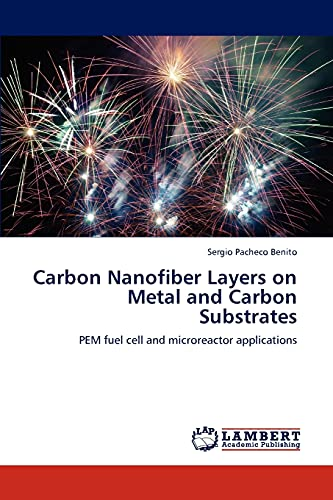9783847341369: Carbon Nanofiber Layers on Metal and Carbon Substrates: PEM fuel cell and microreactor applications