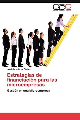 9783847350644: Estrategias de financiación para las microempresas: Gestión en una Microempresa (Spanish Edition)