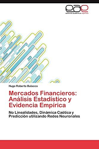 9783847351658: Mercados Financieros: Análisis Estadístico y Evidencia Empírica