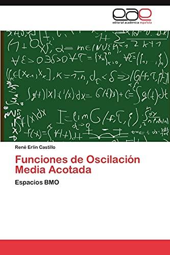 9783847352730: Funciones de Oscilación Media Acotada