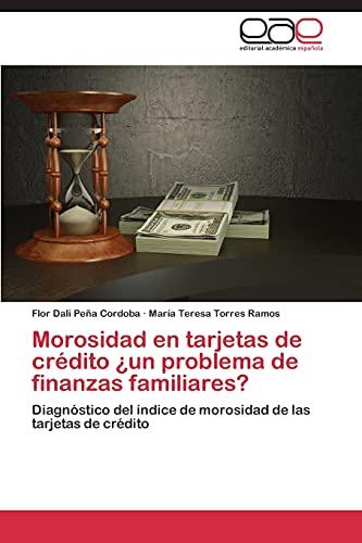 9783847355380: Morosidad En Tarjetas de Credito Un Problema de Finanzas Familiares?