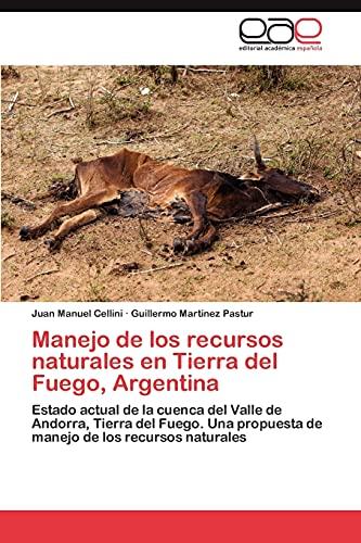 9783847355724: Manejo de los recursos naturales en Tierra del Fuego, Argentina