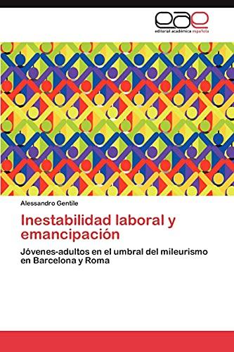 9783847356462: Inestabilidad Laboral y Emancipacion