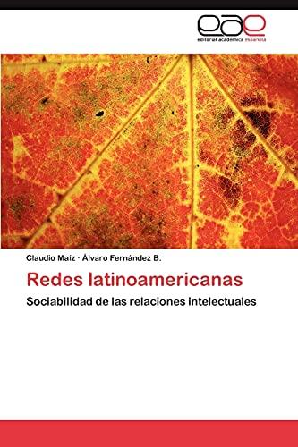 9783847357490: Redes latinoamericanas: Sociabilidad de las relaciones intelectuales (Spanish Edition)