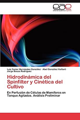 Hidrodinámica del Spinfilter y Cinética del Cultivo: Hernández González, Luis