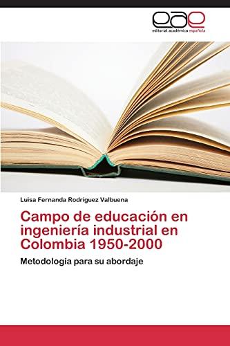 Campo de Educacion En Ingenieria Industrial En: Rodriguez Valbuena Luisa