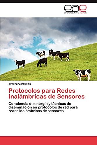9783847361671: Protocolos Para Redes Inalambricas de Sensores