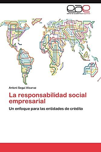 9783847361930: La Responsabilidad Social Empresarial