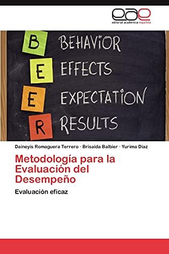 9783847365556: Metodología para la Evaluación del Desempeño
