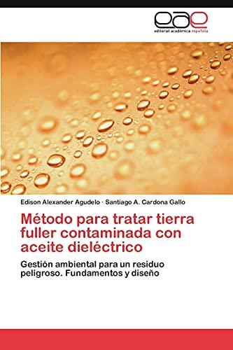 Metodo Para Tratar Tierra Fuller Contaminada Con Aceite Dielectrico: Edison Alexander Agudelo