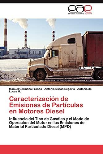 9783847369059: Caracterizacion de Emisiones de Particulas En Motores Diesel