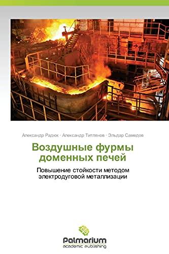 9783847396192: Vozdushnye furmy domennykh pechey: Povyshenie stoykosti metodom elektrodugovoy metallizatsii (Russian Edition)