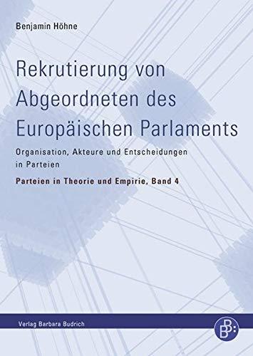 Rekrutierung von Abgeordneten des Europäischen Parlaments: Benjamin H�hne